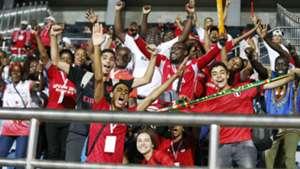 Kenya and Harambee Stars fans in Egypt.