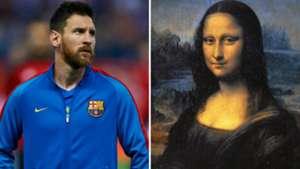 Messi Mona Lisa