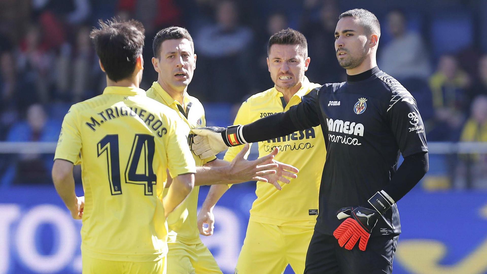 Asenjo Villarreal Getafe LaLiga