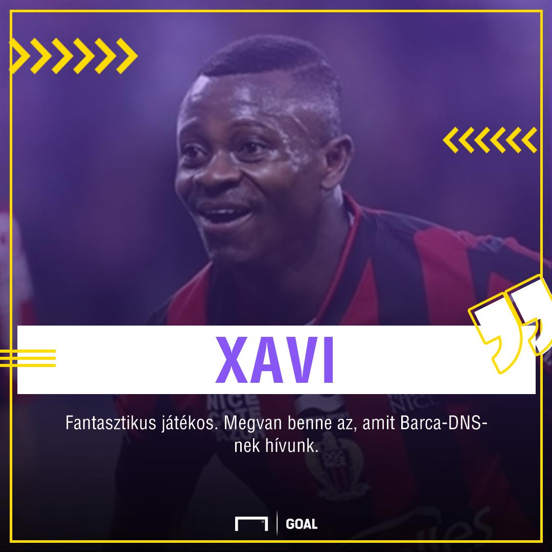 Xavi szavai Seri-ről