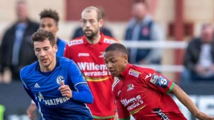 Andile Jali in action for Oostende