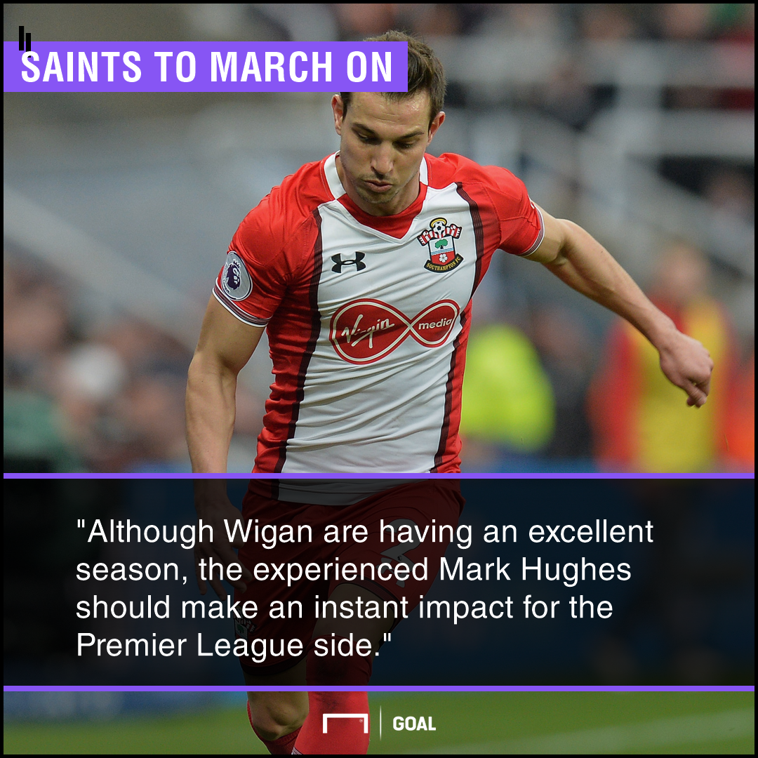Wigan Southampton graphic