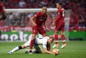 Fabinho Harry Kane Tottenham Liverpool Champions League
