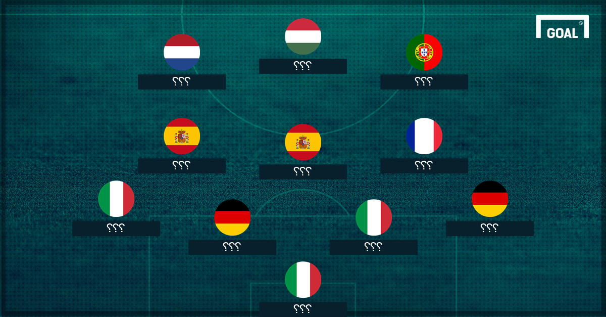 GFX AR Europe All Time XI unrevealed