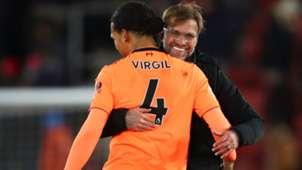 FC Liverpool Jürgen Klopp Virgil van Dijk 11022018
