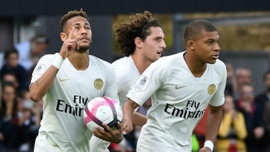 Neymar Kylian Mbappe Paris Saint Germain PSG 2018-19