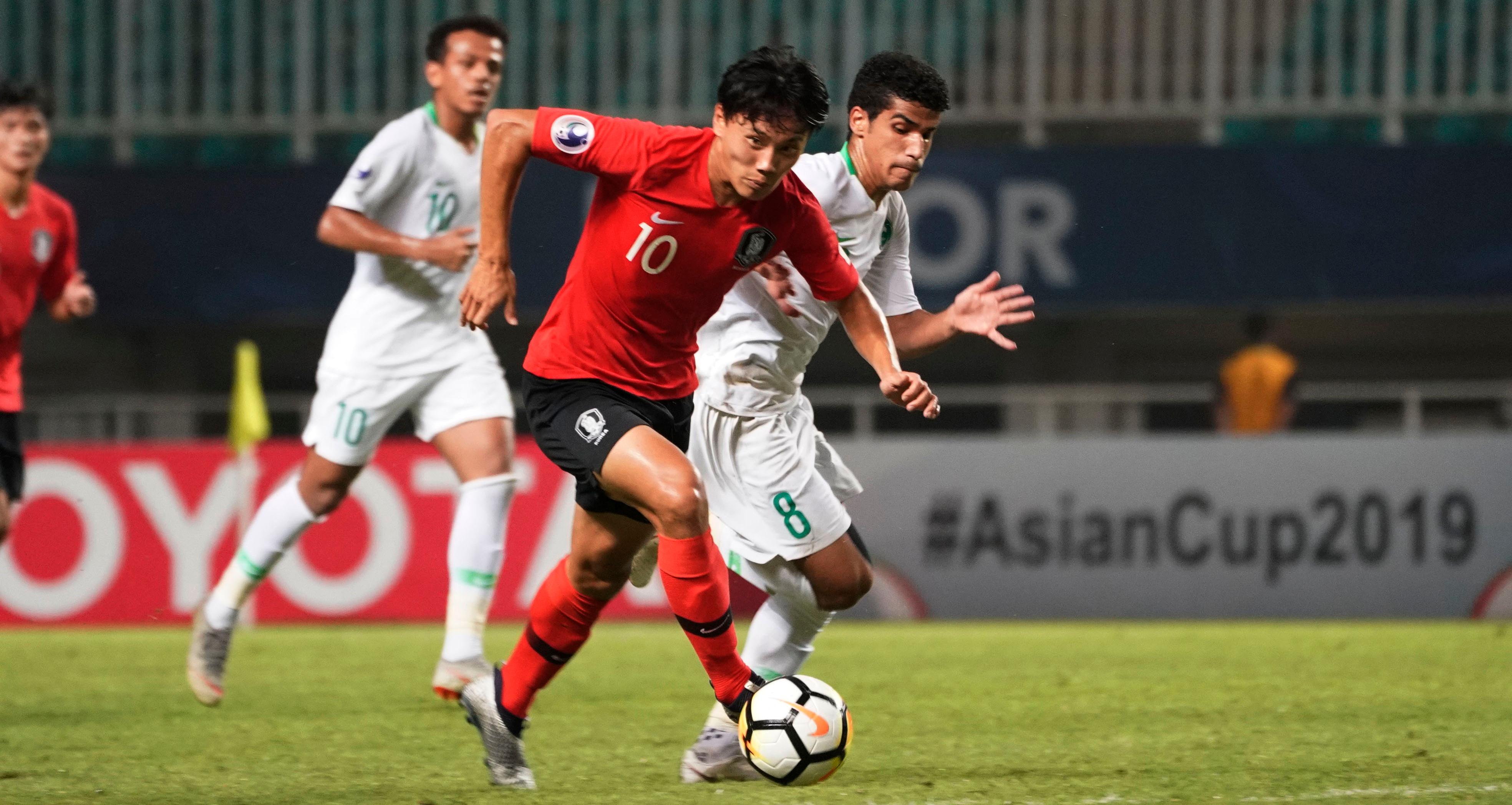 U19 Saudi Arabia U19 Hàn Quốc Chung kết giải U19 châu Á 2018