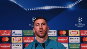 Sergio Ramos PSG Real Madrid UEFA Champions League press conference