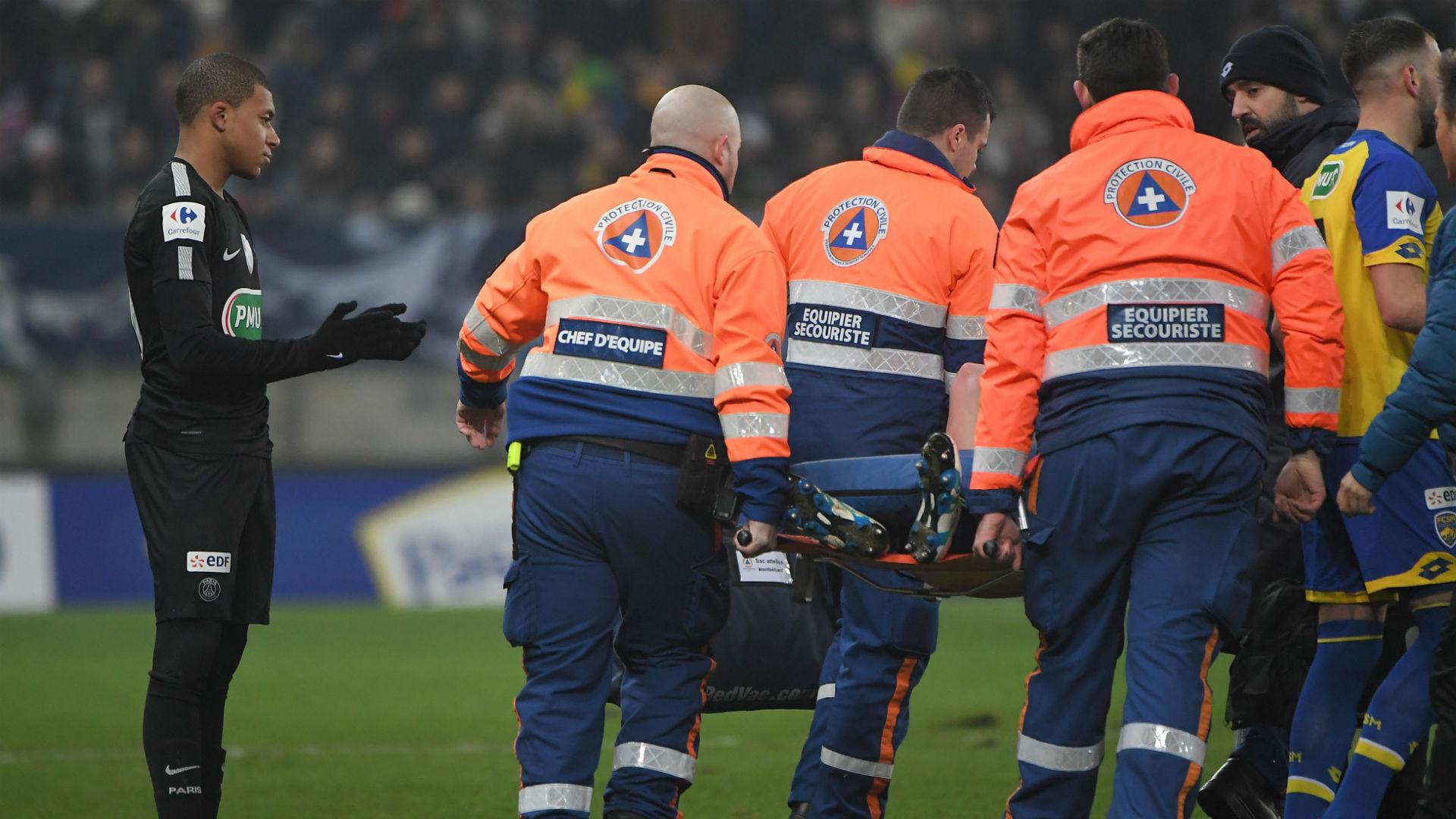 Rupture des ligaments croisés pour Florian Martin ?