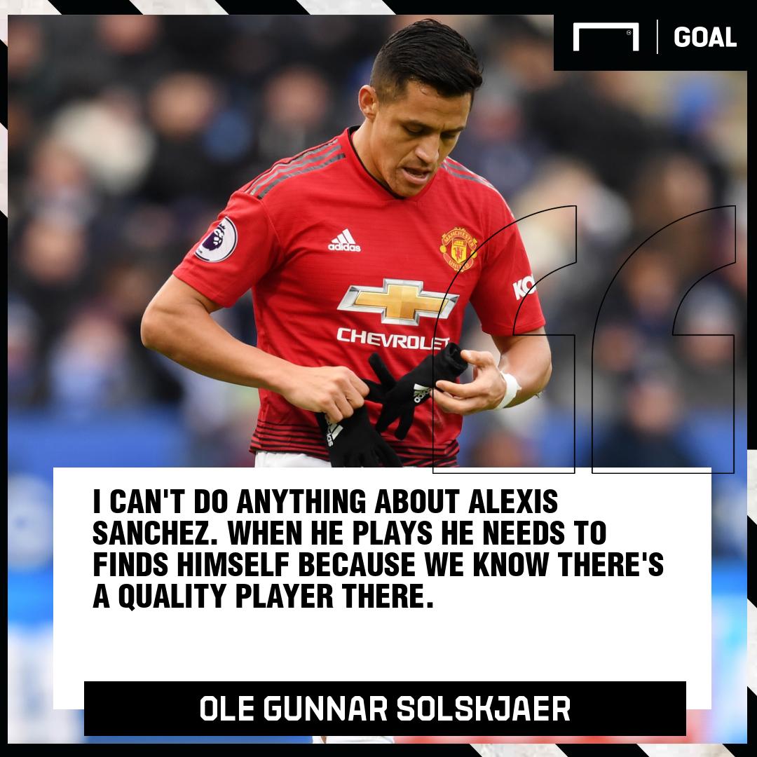 Ole Gunnar Solskjaer on Alexis Sanchez Manchester United