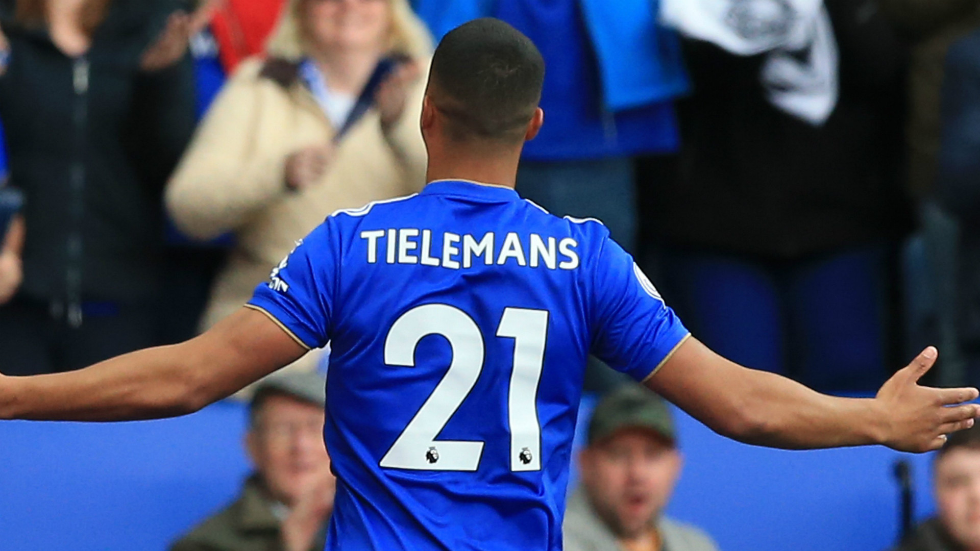 Youri Tielemans Leicester City 2018-19
