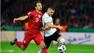 Mats Hummels Ante Rebic Bayern Euntracht DFB Pokal 19052018