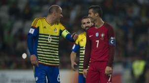 Ildefons Lima Cristiano Ronaldo Andora Portugal