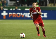 John Goossens, Chicago Fire, MLS
