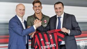 Fassone Andrè Silva Mirabelli Milan