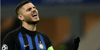 Mauro Icardi Inter PSV Champions League