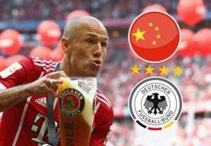 Arjen Robben composite