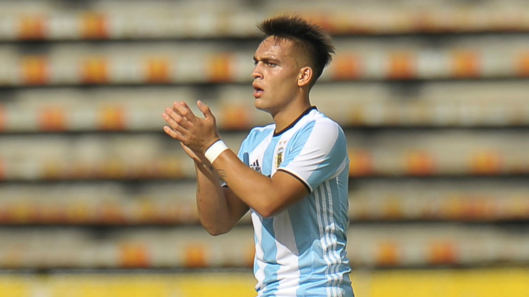 Lautaro Martinez Argentina U20