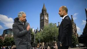 Jose Mourinho Pep Guardiola Manchester