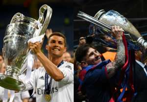 GFX Messi Cristiano titulos