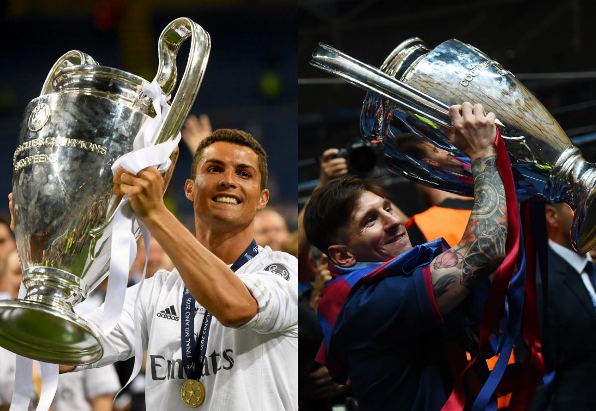 Ronaldo vs. Messi: ¿quién tiene más títulos?