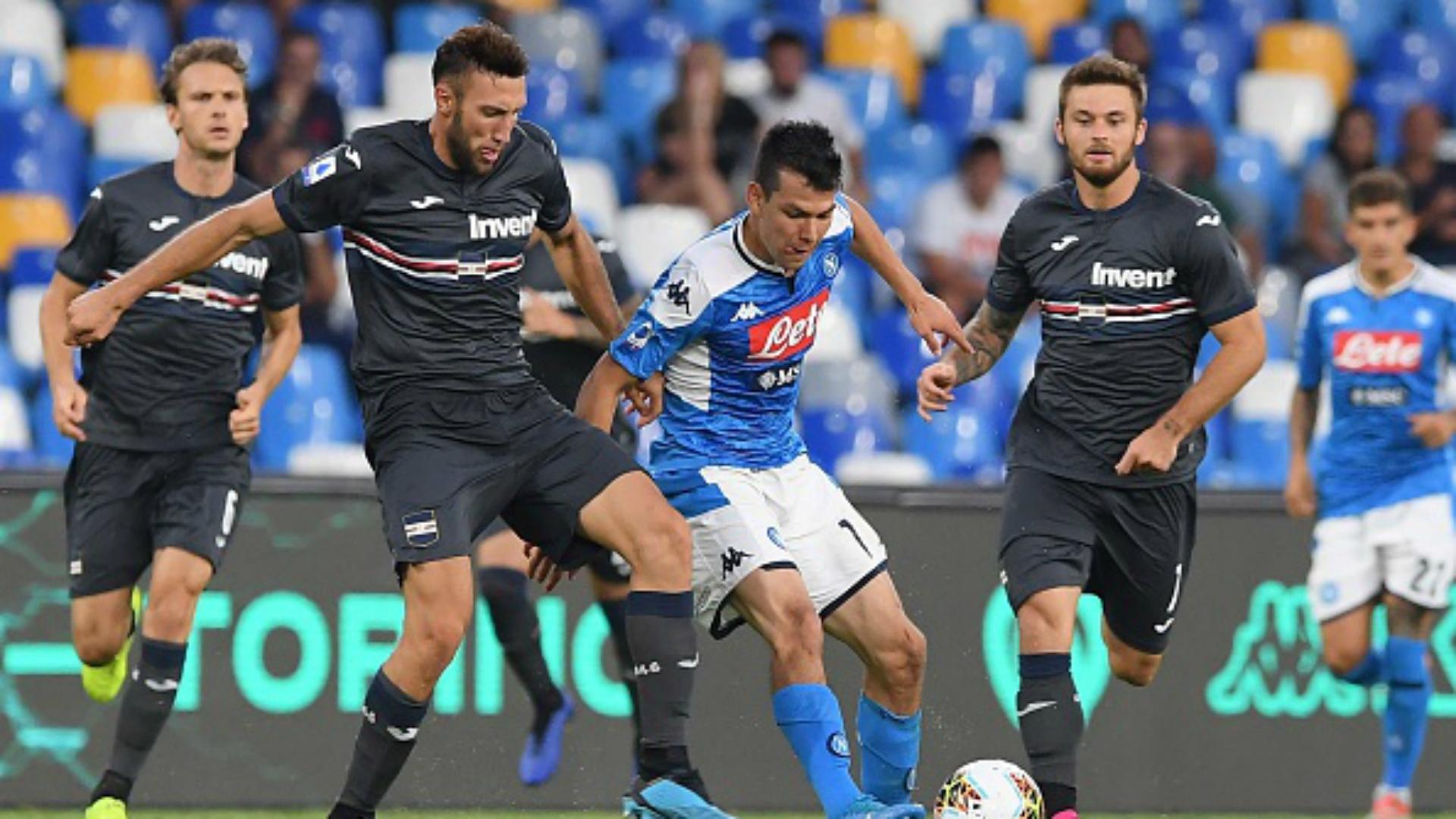 Lozano Napoli - Sampdoria