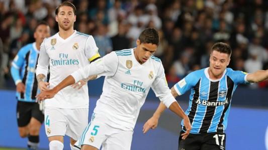 Raphael Varane Ramiro Real Madrid Gremio Club World Cup 16122017