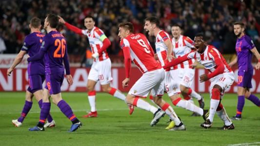 Crvena Zvezda - Liverpool Champions League 11062018