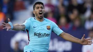 Luis Suarez Barcelona 2017-18