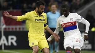 Tanguy Ndombele Mario Gaspar Lyon Villarreal UEFA Europa League 15022018