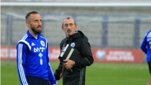 Avdija Vrsajevic Mehmed Bazdarevic Bosnia training