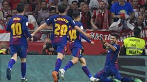 Luis Suarez Sevilla Barcelona Copa del Rey