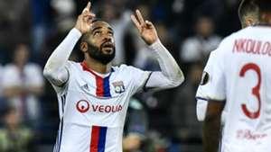 Alexandre Lacazette Lyon Europa League
