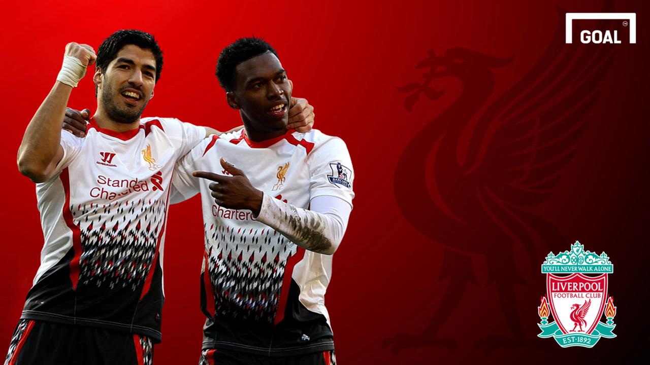 Luis Suarez Daniel Sturridge Liverpool GFX