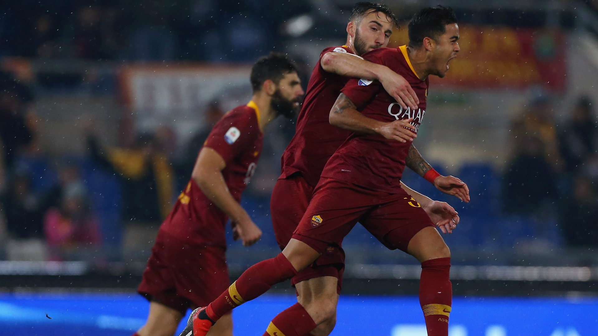 Justin Kluivert AS Roma 12162018