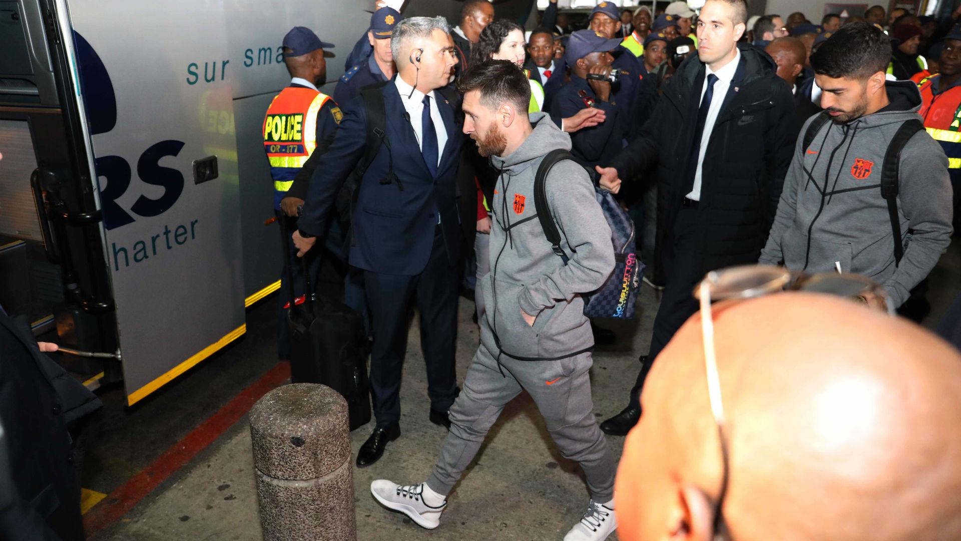 فريق برشلونة في جنوب إفريقيا لمواجهة صن داونز