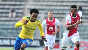 Percy Tau, Mamelodi Sundowns & Rodrick Kabwe, Ajax Cape Town, April 2018