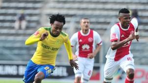 Percy Tau, Mamelodi Sundowns & Rodrick Kabwe, Ajax Cape Town, April 2018