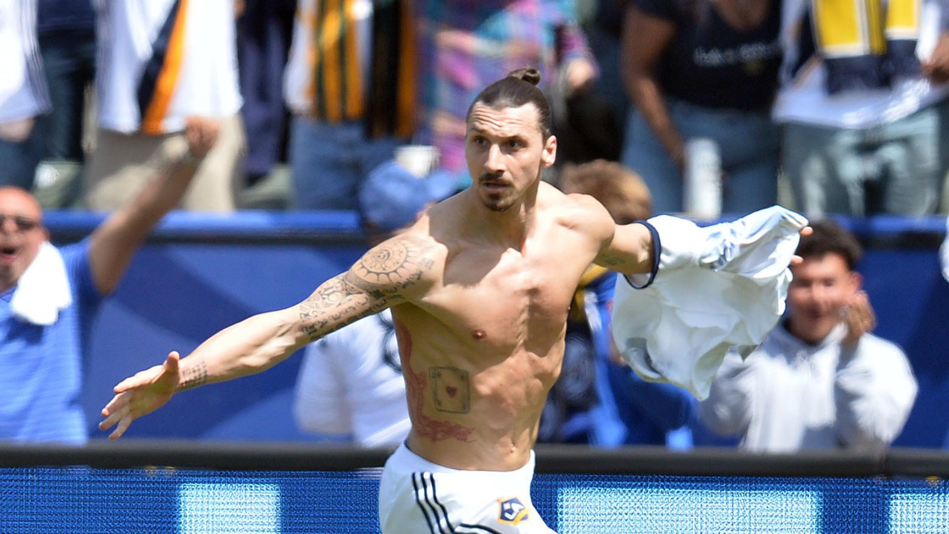 Zlatan Ibrahimovic MLS LA Galaxy LAFC 03312018