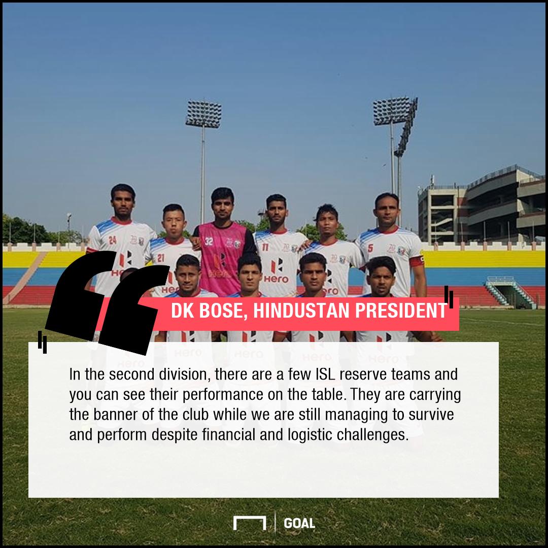 DK Bose, Hindustan FC