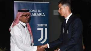 Cristiano Ronaldo Juventus Supercoppa Saudi-Arabien Arabia 14012019