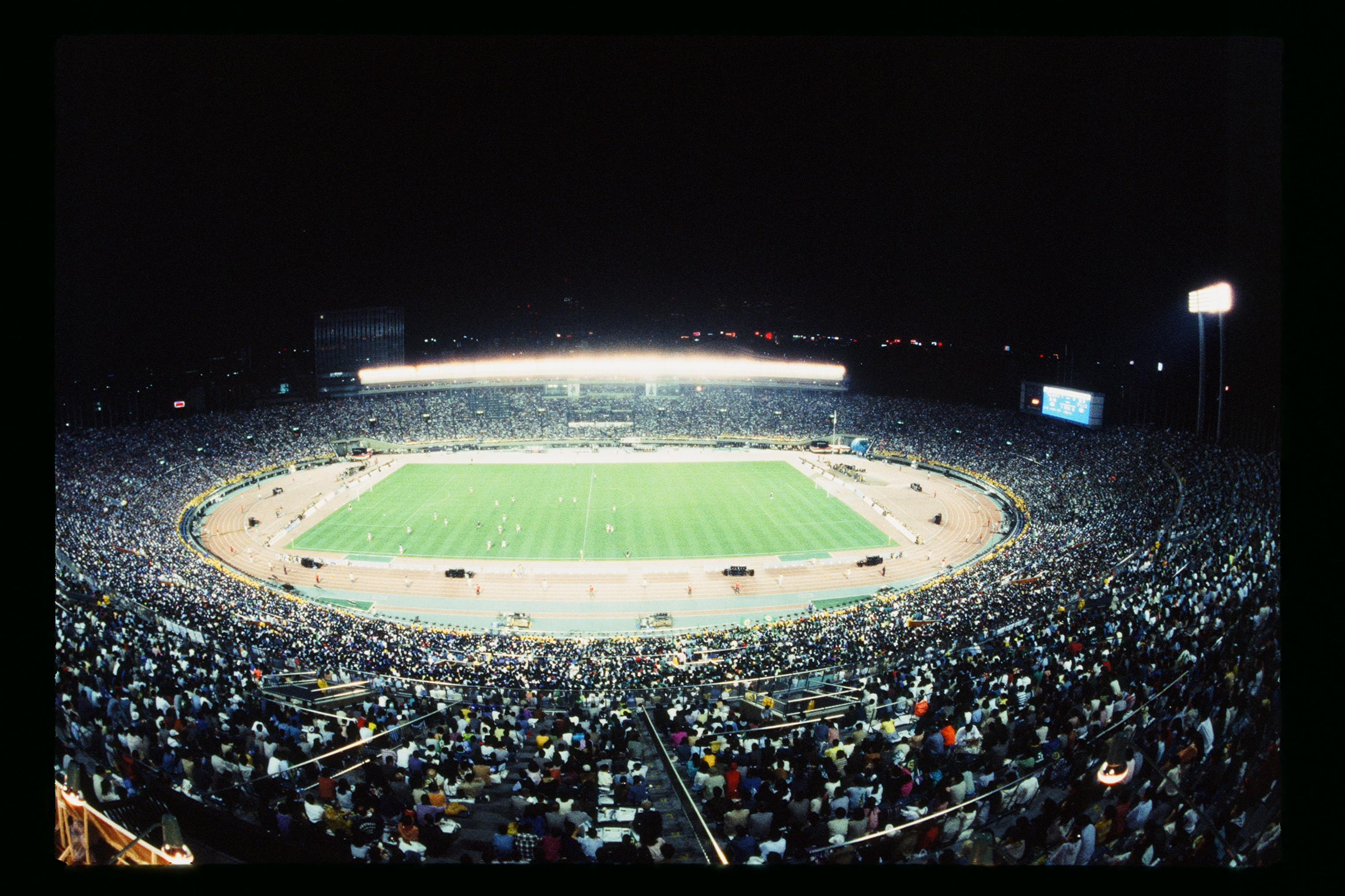 National Olympic Stadium Tokyo - Verdy Kawasaki vs Yokohama Marinos - J.League