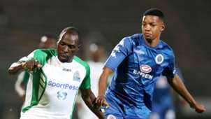 Jamie Webber, SuperSport United against Gor Mahia, April 2018