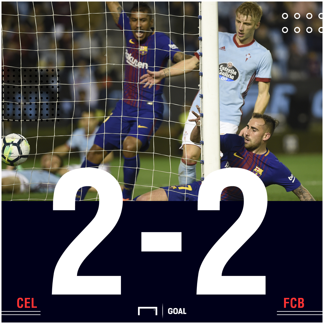 Celta Barcelona score