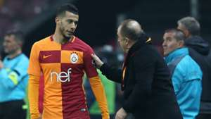 Younes Belhanda Fatih Terim Galatasaray