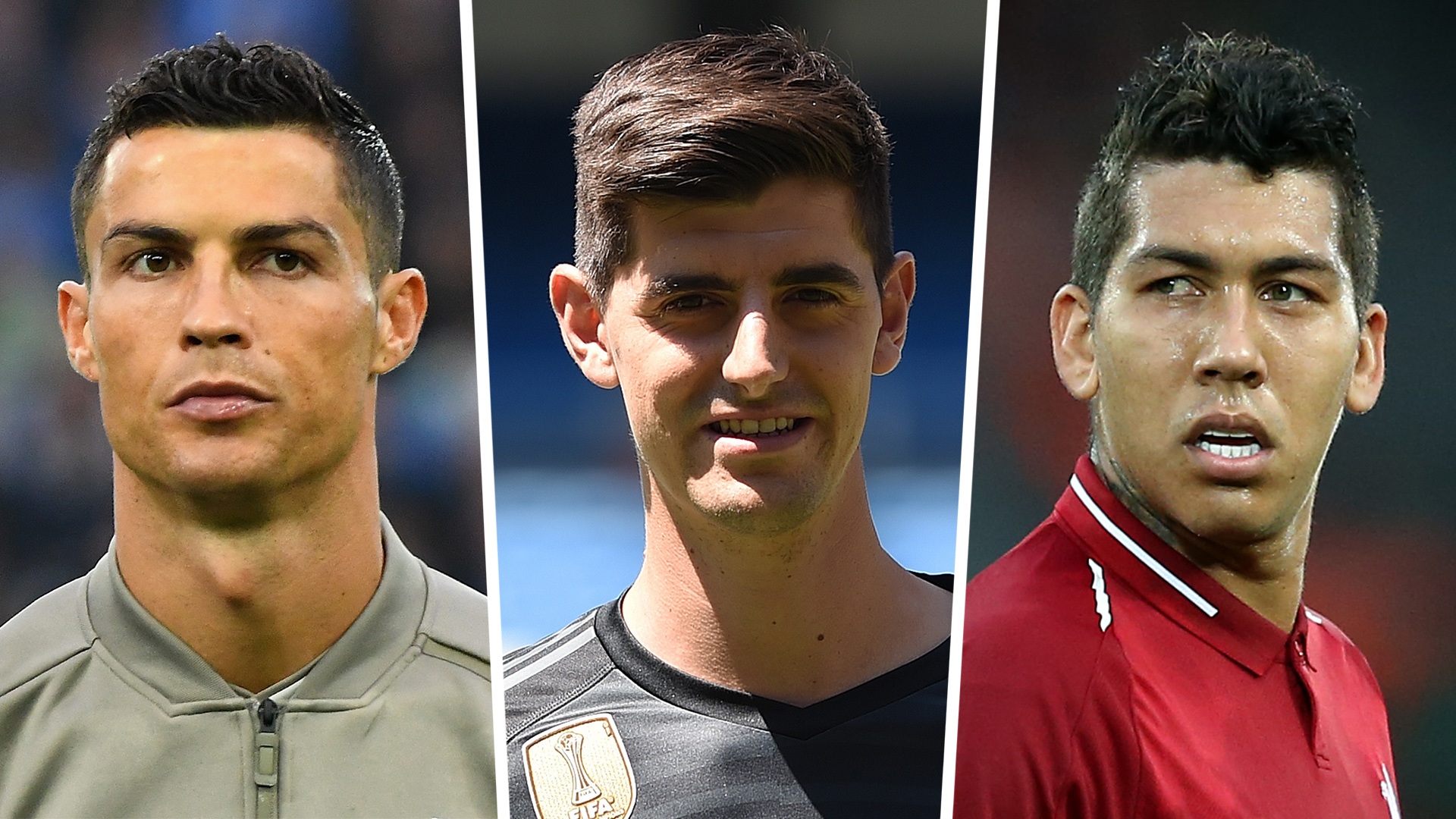 Ballon d'Or 2018: Ronaldo, Courtois nominated but De Gea misses out