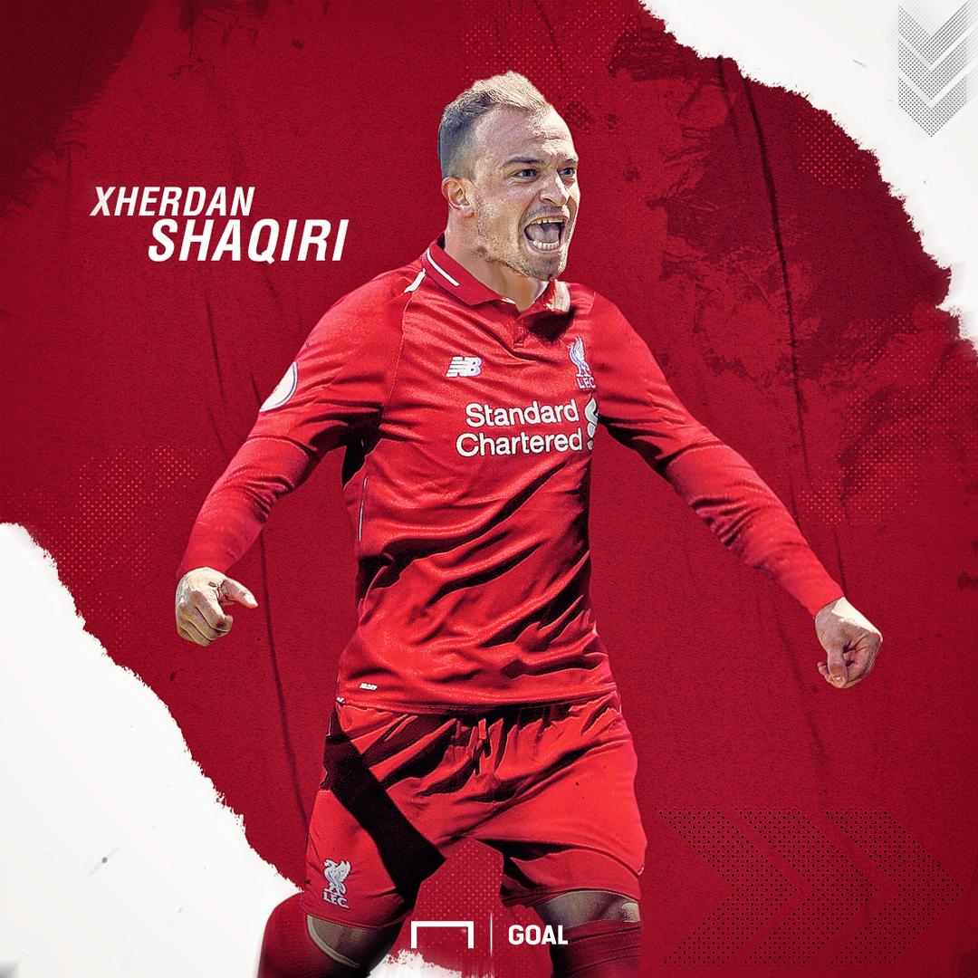 GFX Xherdan Shaqiri Liverpool