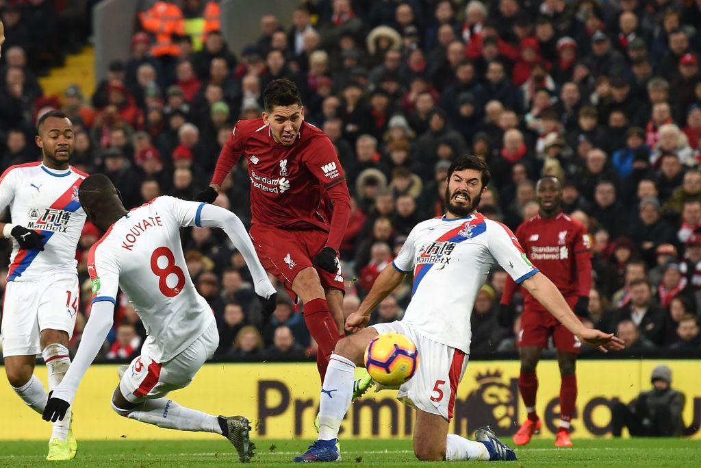 Roberto Firmino Liverpool vs Crystal Palace EPL 190119