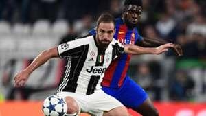 Gonzalo Higuain Juventus Barcellona Champions League