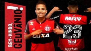 Geuvânio Flamengo 21 06 2017